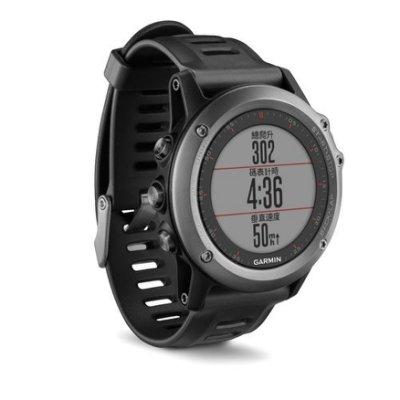 GARMIN fenix 3 全能戶外運動GPS腕錶 太空灰
