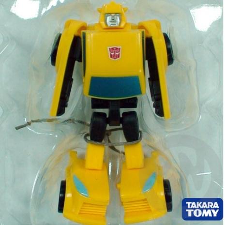 《玩具森林》[變形金剛-變形金鋼-變型金剛]日版TAKARA TOMY EZ01奇兵基本收藏組:大黃蜂 Bumblebee(動畫版)