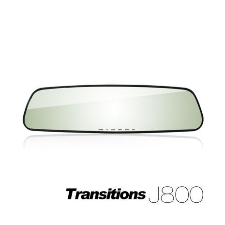 全視線 J800 HD高畫質後視鏡行車記錄器