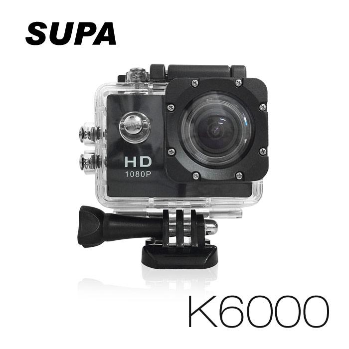 速霸 K6000 Full HD 1080P 極限運動防水型 行車記錄器