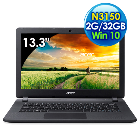 Acer ES1-331-C2DE (N3150/13.3吋/2G/32GB/Win 10)
