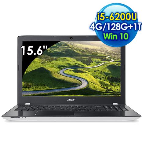 Acer E5-575G-54MP (i5-6200U  雙核心/15.6吋FHD/4G/128G SSD+1TB/940MX 2G獨顯/Win 10)