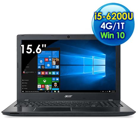 【瘋狂下殺】Acer E5-575G-51CZ (i5-6200U /15.6吋FHD/4G/1TB/940MX 2G獨顯/Win 10/黑)