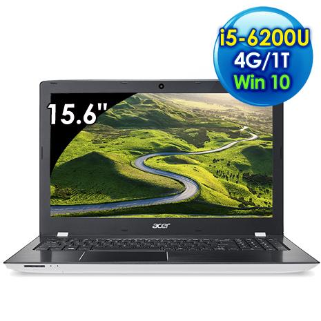 【瘋狂下殺】Acer E5-575G-54Y1 (i5-6200U /15.6吋FHD/4G/1TB/940MX 2G獨顯/Win 10/白)