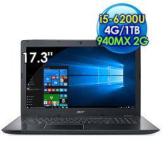Acer E5~774G~55PZ ^(i5~6200U 雙核心17.3吋FHD4G1TB