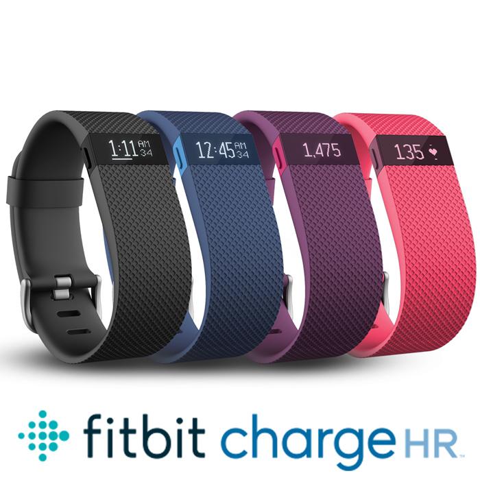 第二件再5折↘Fitbit Charge HR 無線心率監測專業運動手環