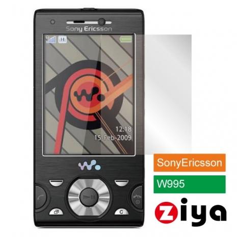 ZIYA SonyEricsson W995 抗刮亮面螢幕保護貼 - 2入
