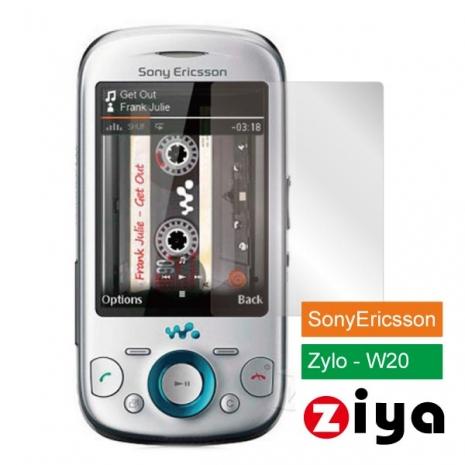 ZIYA Sony Ericsson Zylo W20 抗刮亮面螢幕保護貼 - 2入