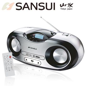 山水SANSUI 藍芽/廣播/USB/MP3/CD/AUX手提式音響(SB-99N)