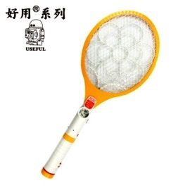 USEFUL好用 三層/充電式/手電筒電蚊拍(UL-EA311)