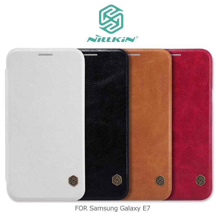 NILLKIN Samsung Galaxy E7 秦系列側翻皮套