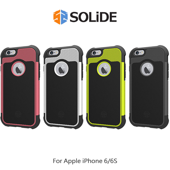 SOLiDE Apple iPhone 6s / 6 4.7吋ZEUS宙斯防摔殼