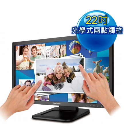 ViewSonic 優派 TD2220 22型光學觸控顯示器