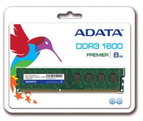 ADATA 威剛 8G DDR3 1600 桌上型記憶體