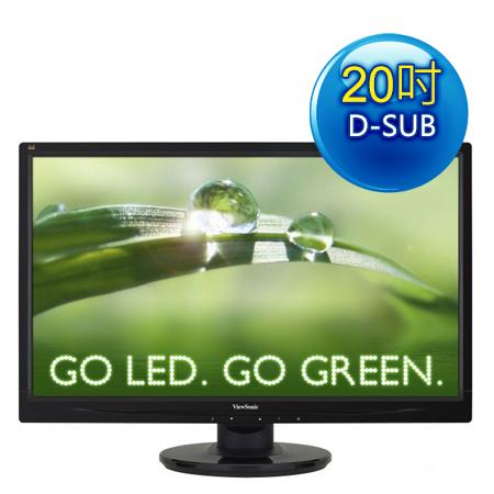 ViewSonic優派VA2046a-LED 20型LED寬螢幕