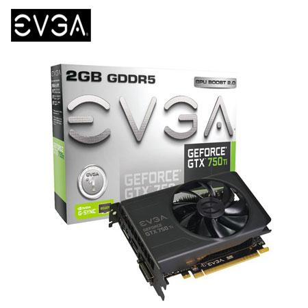 EVGA 艾維克 GTX750TI 2G REF 顯示卡