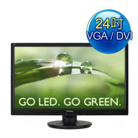 ViewSonic優派VA2446m-LED 24型寬多媒體液晶螢幕