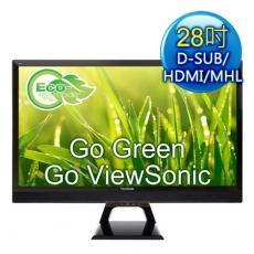 ViewSonic優派 VX2858SML 28型VA不閃屏寬螢幕