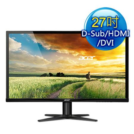 acer宏碁 G277HL 27型 IPS 低藍光不閃屏液晶螢幕