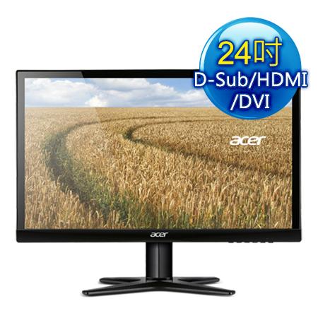 Acer宏碁 G247HYL 24型 不閃屏,低藍光 IPS液晶螢幕