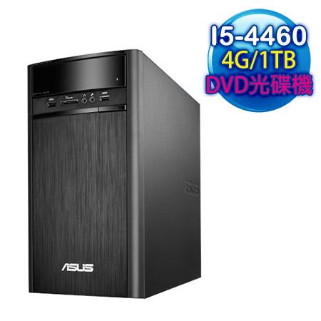 ASUS華碩 K31AD Intel I5-4460四核 4G記憶體 Win10電腦 (K31AD-0061A446UMT)