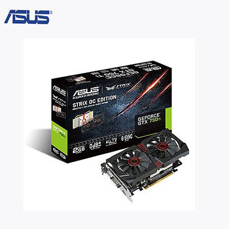 ASUS華碩 STRIX-GTX750TI-OC-2GD5 顯示卡