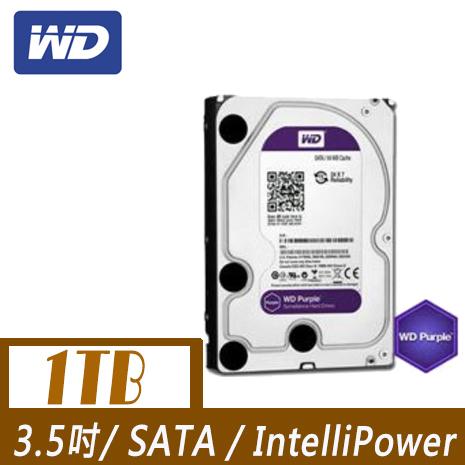 WD 威騰 PURX 1TB 3.5吋SATAIII 硬碟(WD10PURX)