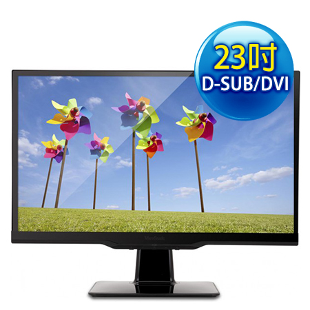 ViewSonic優派 VX2363S 23型 IPS 2毫秒護眼液晶螢幕