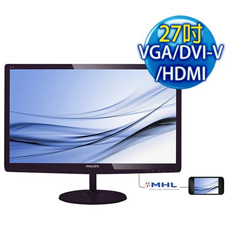 PHILIPS飛利浦 277E6EDAD 27型 低藍光廣視角液晶螢幕