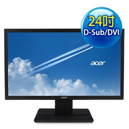 Acer宏碁 V246HL 24型 寬液晶螢幕