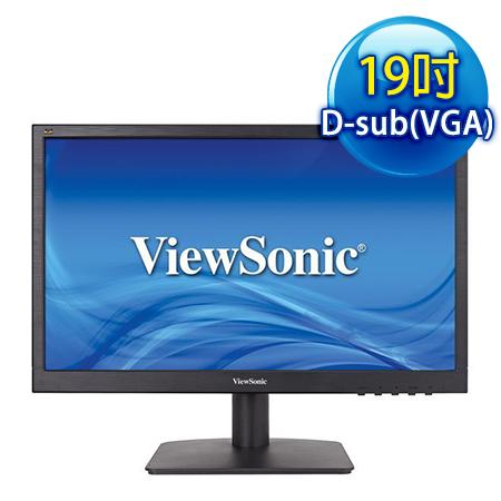 ViewSonic優派 VA1903A 19型 不閃爍濾藍光液晶螢幕