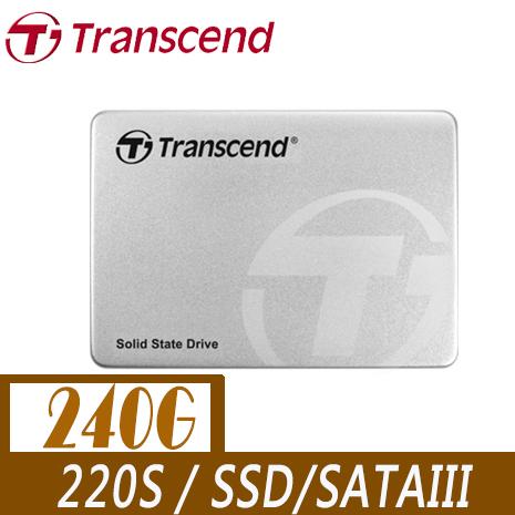 Transcend 創見 220S 240G 2.5吋 7mm SATA3 SSD 固態硬碟