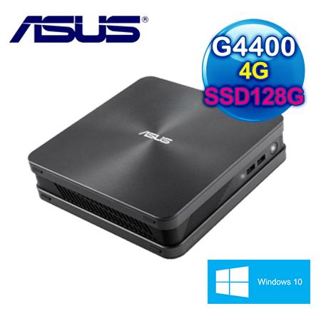 ASUS華碩 VIVO MINI VC65 Intel G4400T SSD128G WIN10迷你桌上型電腦 三年保固(VC65-G445RTA-3Y)