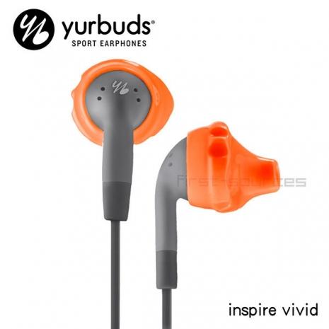 Yurbuds 入耳式運動耳機 inspire vivid 橘 AYUR-028
