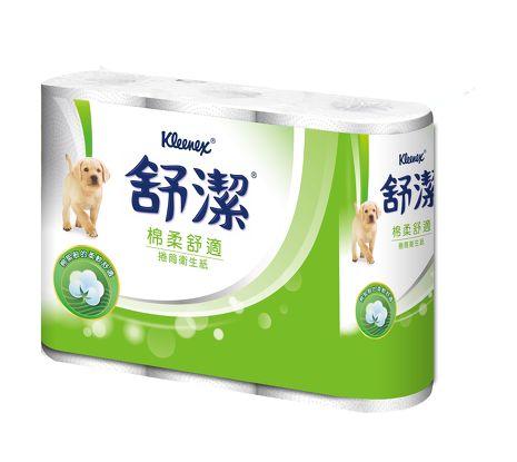 【舒潔】捲筒衛生紙280張(6卷x12串)
