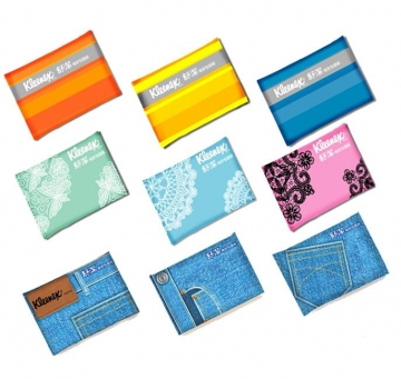 【舒潔】袖珍面紙10抽(36入x6包)-款式隨機出貨