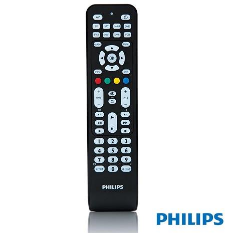 (福利新品)PHILIPS SRP2008B/86 液晶/傳統 TV八合一萬用遙控器