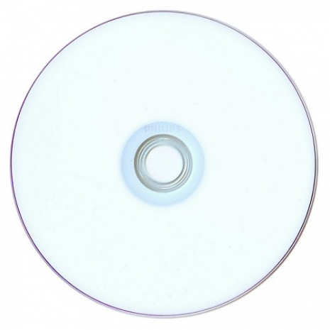 PHILIPS飛利浦 16X DVD+R 可印式 100片