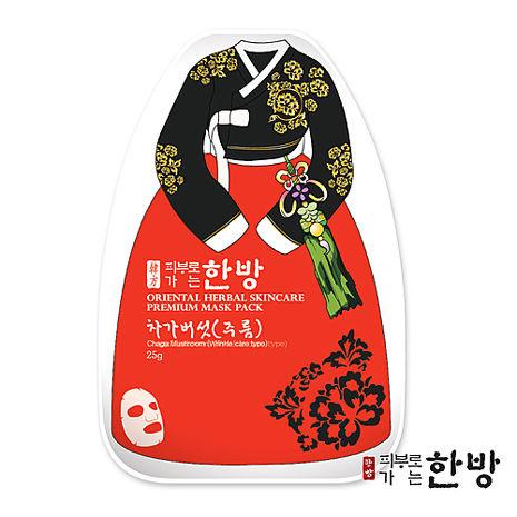 【韓國 東方美學】白樺茸膠原蛋白緊緻保濕面膜(1入)