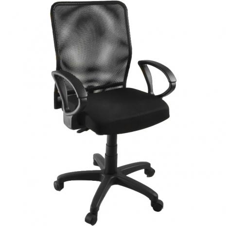 【凱堡】凱爾透氣網背電腦椅( 黑色)辦公椅/網椅/透氣椅