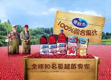 《優鮮沛》蔓越莓綜合果汁 500ml(24入/2箱)