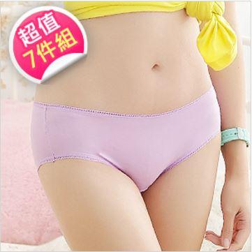 【蕾黛絲】Sloggi 淺色低腰平口褲七件組