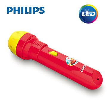 【飛利浦 PHILIPS】迪士尼魔法燈 -LED 迪士尼投影筆 - 汽車總動員(71788)