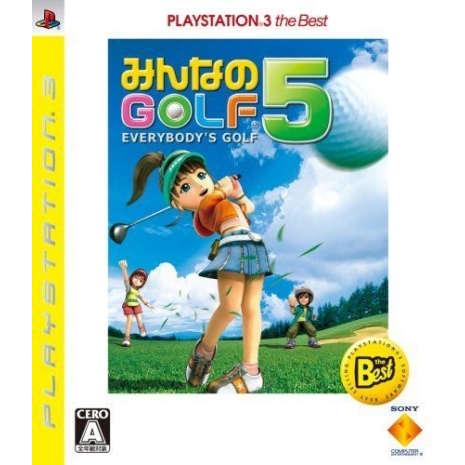 PS3 MOVE 全民高爾夫 5 (日版)