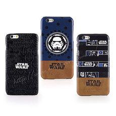 Star Wars iPhone 6s Plus6 Plus 星際大戰 高 皮革彩繪背蓋保