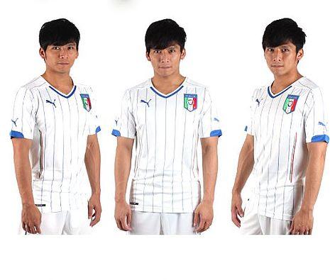 PUMA 義大利客場 男短袖T恤(球衣 世界盃足球賽 世足)