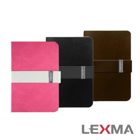 [福利品] LEXMA iPad mini都會經典時尚保護皮套 (黑)