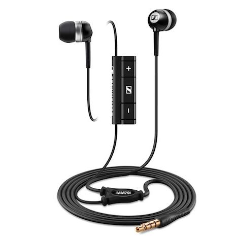 Sennheiser 耳道式耳機MM70i