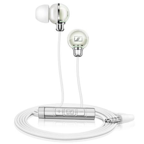 Sennheiser 耳道式iPhone專用耳機CX890i白