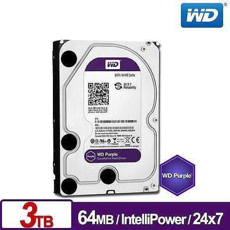 WD威騰 WD30PURX 紫標 3TB 3.5吋監控系統硬碟